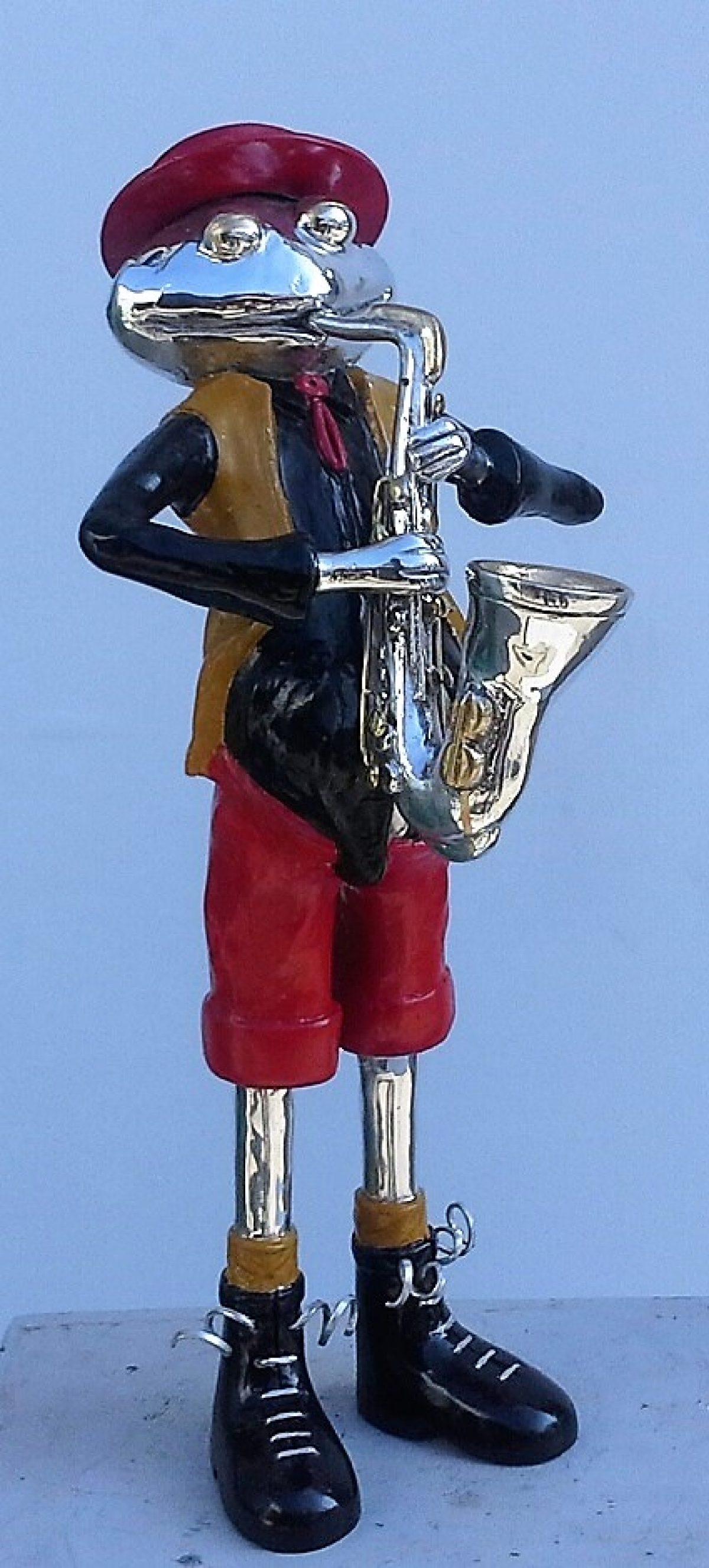 Funny Saxophone Player